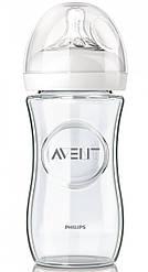 Бутылочка для кормления AVENT NATURAL стеклянная 240 мл