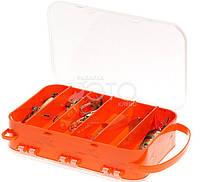 Коробка для рыболовных снастей Adams двусторонняя 15 ячеек( 2515) , товары для рыбалки, комплектюющее