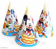 """Колпачок праздничный, маленький """" Микки и его друзья """"."""