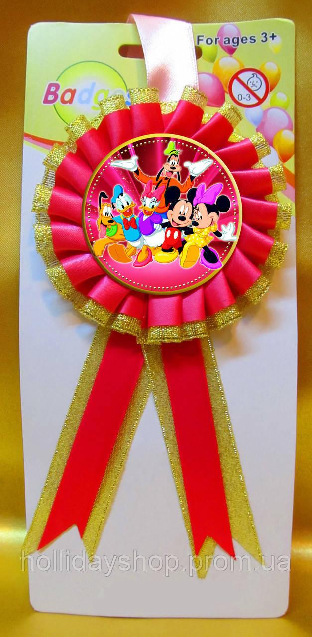 """Медаль сувенирная """" Микки и его друзья """" . Детские медали"""