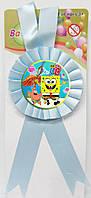 """Медаль сувенирная """" Губка Боб """". Медали для детских конкурсов"""