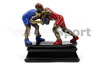 Статуэтка (фигурка) наградная спортивная Борьба Борцы