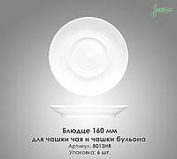 Блюдце Д160мм, под чайную и бульонную чашки