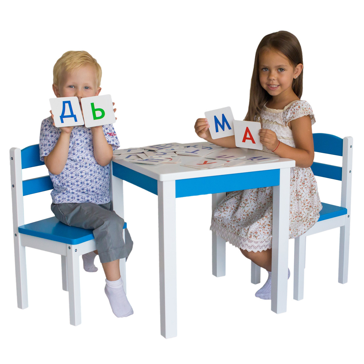 Купити дитячі столи та стільці від виробника Київ
