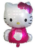 Фольгированный воздушный шарик Китти 80 х 54 см.