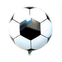 """Шарик фольгированный """" Футбольный мяч """" диаметр 45 см."""
