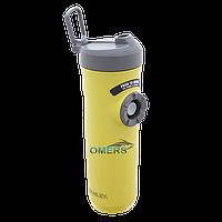 Термочашка-поилка Stanley Mountain желтая 0,6 л, фото 1