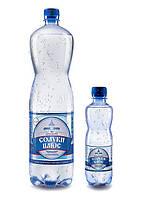 Минеральная столовая вода «Солуки Плюс» сильногазированная