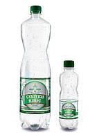Минеральная столовая вода «Солуки Плюс» слабогазированная