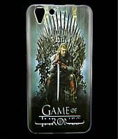 Чехол накладка для Lenovo A6020 Vibe K5 Plus силиконовый с рисунком, Game of Thrones Stark