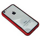 Бампер для iPhone 5C - красный