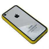 Бампер для iPhone 5C - желтый