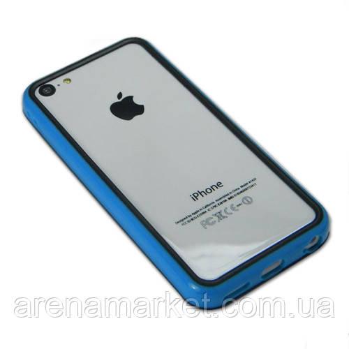 Бампер для iPhone 5C - синій