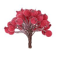 """Красные ягоды в """"сахаре"""" 10 шт."""