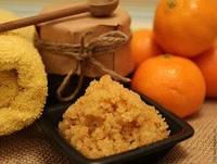 Скраб для тела Апельсинка с антицеллюлитным эффектом