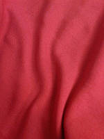Трикотаж красный хлопок связан чулок мелкой резинкой шир 1 м