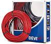 Двожильний нагрівальний кабель DEVIflex™ 74 м
