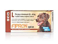 Фипрон спот-он   L - капли от блох и клещей для собак весом 20–40 кг (1пипетка)