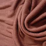 Трикотаж натуральный вязаный по кругу , ткань  шир 70см коньяк, фото 2