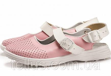 Обувь кожаная медицинская женская