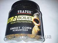 Бойлы тонущие TRAPER(ТРАПЕР) кукуруза, прикормка для рыбы , товары для рыбалки