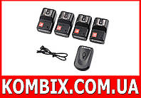 Радиосинхронизатор DSLR-kit PT-04 для Canon, Nikon, др. (1 передатчик 4 приемника)