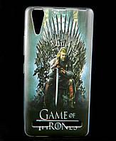 Чехол накладка для Lenovo A6010 PRO силиконовый с рисунком, Game of Thrones Stark