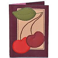 Женская кожаная обложка для паспорта от Елены Юдкевич UNIQUE U (ЮНИК Ю) U2516603