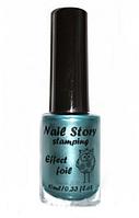 Лак для стемпинга Nail Story эффект фольги №5