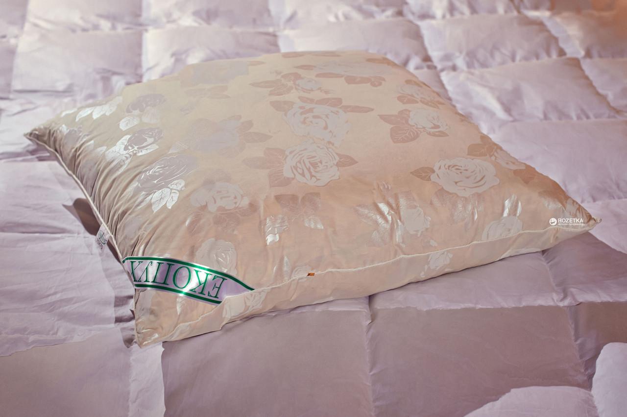 Подушка Экопух полупуховая 70х70