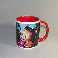 Цветная чашка с фото