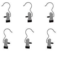 Крючок металлический с прищепкой (для сетки)