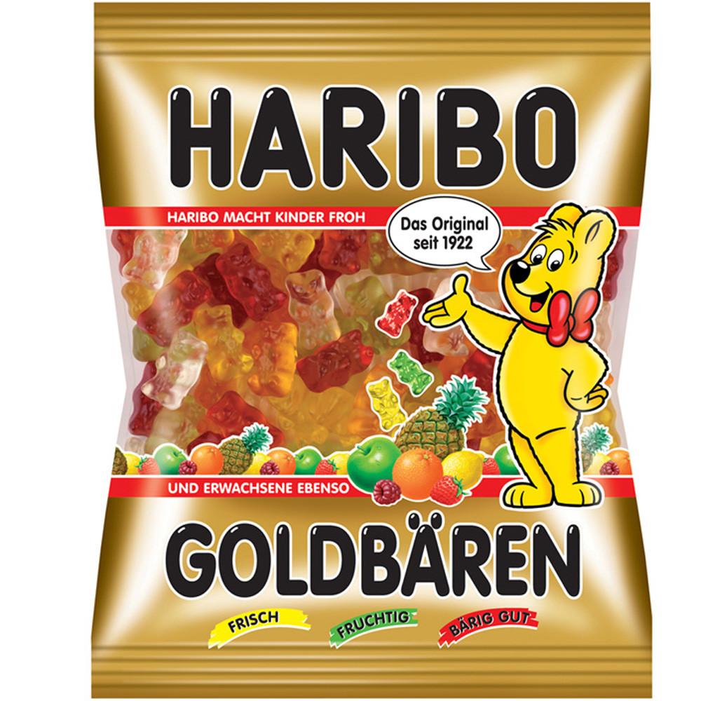 Желейные конфеты Haribo Goldbaren (Харибо) 100 г. Германия