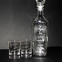 Бутылка, графин с матированием