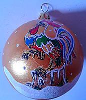 """Новогодняя игрушка """"Шар"""" с символом года Китай"""