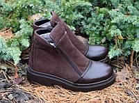 """Ботинки зимние коричневые """"ERDO"""""""