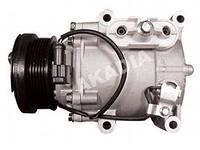 Компрессор кондиционера на Skoda Octavia A5, реставрированный