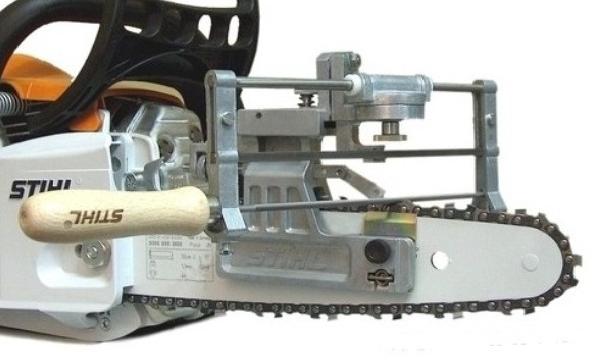 Ручное заточное приспособление STIHL FG 3 из метала, крепление к шине (без ручки и напильника)