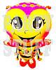 Шарик с ножками Пчелка, 50 см