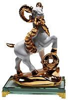 Статуэтка коза золото 130х190х75