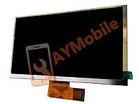 """Дисплей (матрица) 7"""" Beeline Tab Pro 30pin 1024x600 dpi 164x97 mm"""