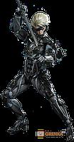 Коллекционная фигурка Hot Toys 'Metal Gear Rising: Revengeance – Райден'