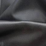 Плащівка чорна з металізованої ниткою шириною 150 см, фото 2