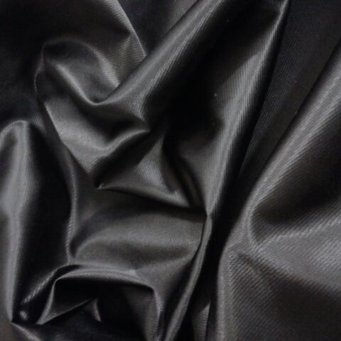 Плащівка чорна з металізованої ниткою шириною 150 см