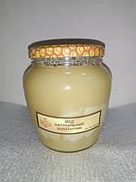 Мед натуральний золотарник 0,55л ОРА АГРО-ЕКО, фото 1