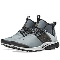 Оригинальные  кроссовки Nike Air Presto Mid Utility Cool Grey, Black & Off White