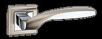 Ручка дверная MVM Teza Z-1325 SN/CP (матовый никель/хром)