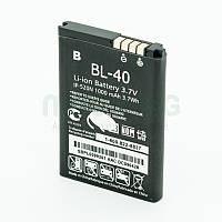 Аккумуляторная батарея на LG BL40 для мобильного телефона, аккумулятор для смартфона.