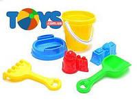 Детский песочный набор «Замок»