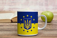 Кружка Україна в Євросоюзі
